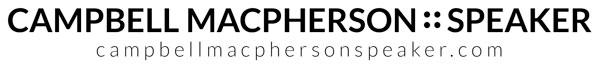 Campbell Macpherson Speaker Logo